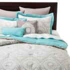 Valencia Medallion Comforter Set - 8-pc