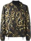 Versace baroque hooded jacket