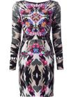 Nicole Miller camouflage print dress