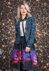 Intergalactic Intuition Midi Skirt