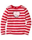 Girls Snoopy Be Mine Tee In Supersoft Jersey