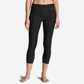 Women's Movement Mesh Block Capris