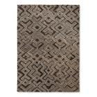 Gray Tribal Tufted Area Rug