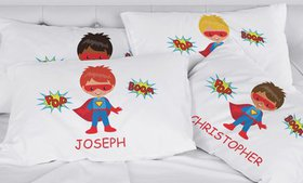 Boys' Personalized Character Pillowcase (Up to 86%