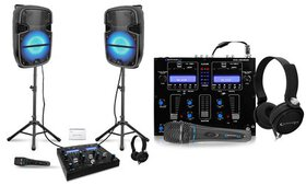 Technical Pro All-in-One Portable DJ Set (10-Piece