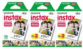 Fujifilm instax mini instant film (20 - 40 - 50 Or
