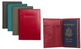 Visconti RFID Identity Theft Protection Leather Pa