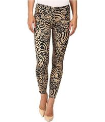7 For All Mankind The Ankle Skinny in Royal Leopar
