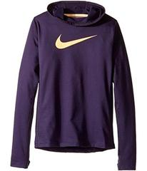 Nike Pro Hyperwarm Pullover Hoodie (Little Kids/Bi