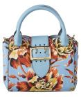 Burberry Burberry Peony Rose Print Small Leather B