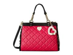 Betsey Johnson Frills Triple Compartment