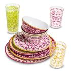Marika Floral Pink & Red Dinnerware Collection