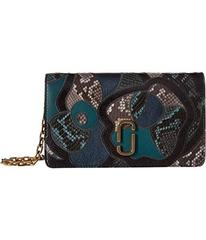 Marc Jacobs J Marc Snake Patchwork Wallet On Chain