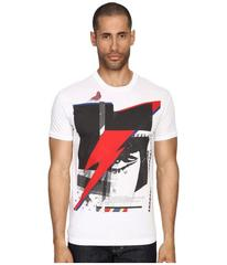 DSQUARED2 Chic Dan Fit Soft Print Lightening T-Shi