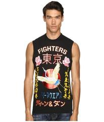 DSQUARED2 Long Cool Fit Punk Manga Gang Muscle Tee
