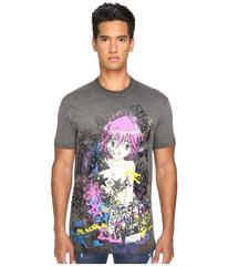 DSQUARED2 Long Cool Fit Punk Manga Gang T-Shirt