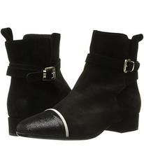 Just Cavalli Laminated Crackle Low Heel Ankle Boot