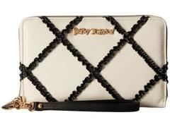 Betsey Johnson Cross Your Heart Large Wallet