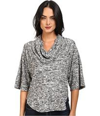 Splendid Silver Mountain Jersey Cowl Neck Pullover