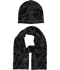 UGG Camo Beanie and Scarf Boxed Set (Toddler/Littl