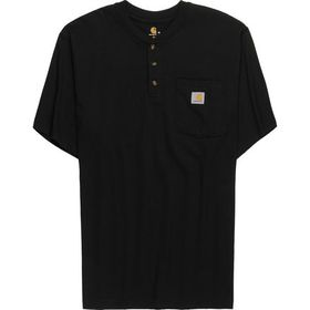 Carhartt Workwear Pocket Short-Sleeve Henley Shirt
