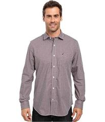 Nautica Long Sleeve Wrinkle Resistant Small Check
