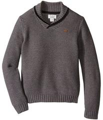 Lucky Brand Honeycomb with Shawl Collar Sweater (L