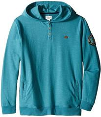 Lucky Brand French Terry Hoodie w/ Button Front &