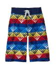 Boys Land & Water Board Shorts With UPF 50+