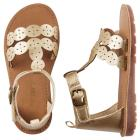 Carter's Metallic T-Strap Sandals
