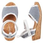 Carter's Striped Espadrille Sandals