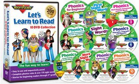 Let's Learn to Read 10-DVD Collection on sale at Groupon.com