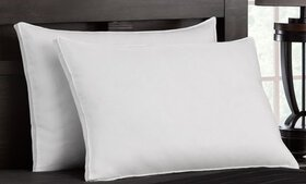 Firm Exquisite Hotel Down-Like Gel Pillows (2-Pack