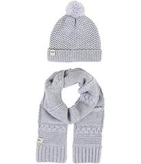 UGG Novelty Beanie and Scarf Boxed Set (Toddler/Li