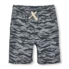 Boys Pull-On Printed Woven Jogger Shorts