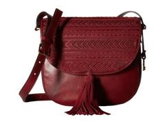 Fossil Emi Tassel Large Saddle Bag