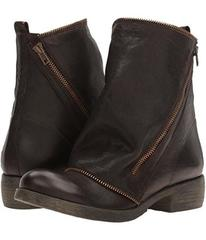 Massimo Matteo Low Boot with Zipper
