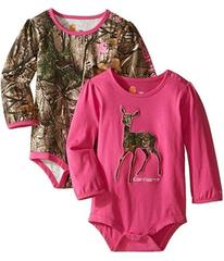 Carhartt Long Sleeved Pink Camo Body Shirt 2-Pack