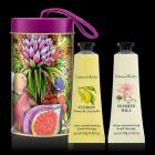 Citron and Summer Hill Hand Therapy Tin