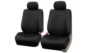 Faux-Leather Bucket Seat Cover Set