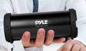 Pyle Portable Bluetooth Wireless Boombox Stereo Sy