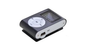 MP3 Music Player With LCD Screen with Micro TF/SD