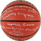 Signed Bobby Knight Indiana Hoosiers NCAA Game Bas