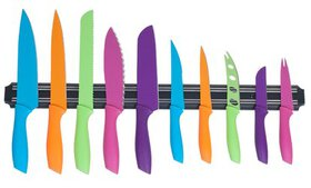 Classic Cuisine Knife Set with Magnetic Knife Bar