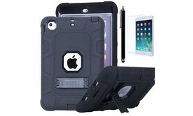 Shockproof Heavy Duty Rubber Case with Stand for A