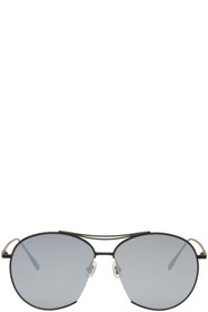 Gentle Monster Black Jumping Jack Aviator Sunglass