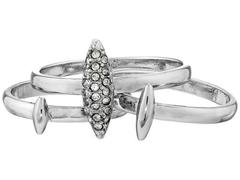 French Connection Spike Midi Set Ring