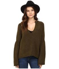 Free People Lovely Lines Pullover