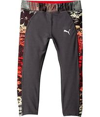 Puma Capris with Printed Pipings (Little Kids)
