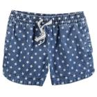 Chambray Star Shorts